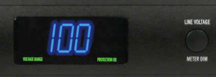 furman P-1800 PFRJ meter